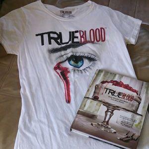 True blood cookbook & t-shirt bundle